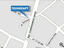 Карта, Автотехнически Център Технопарт София, бул. Симеоновско Шосе 36